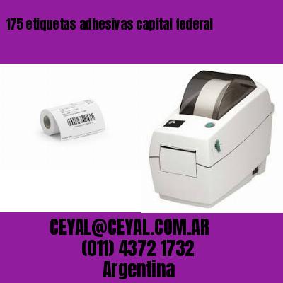 175 etiquetas adhesivas capital federal