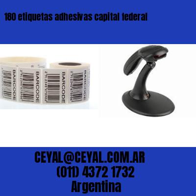 180 etiquetas adhesivas capital federal