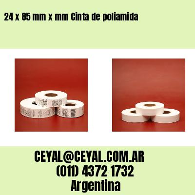24 x 85 mm x mm Cinta de poliamida