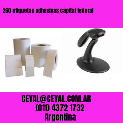 260 etiquetas adhesivas capital federal