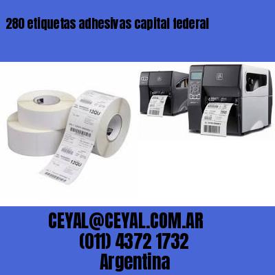 280 etiquetas adhesivas capital federal