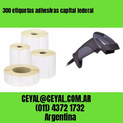300 etiquetas adhesivas capital federal