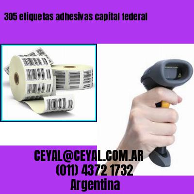 305 etiquetas adhesivas capital federal