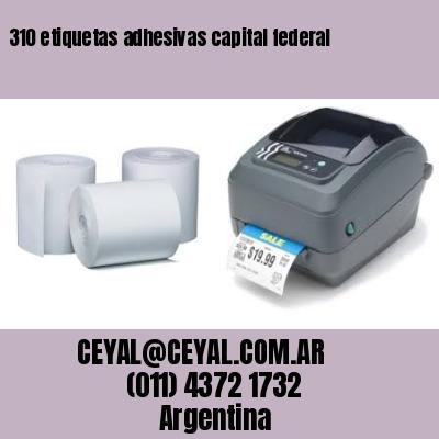 310 etiquetas adhesivas capital federal