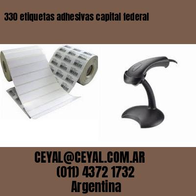 330 etiquetas adhesivas capital federal