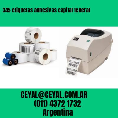 345 etiquetas adhesivas capital federal