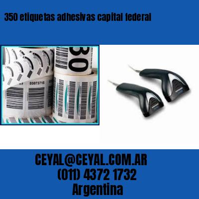 350 etiquetas adhesivas capital federal