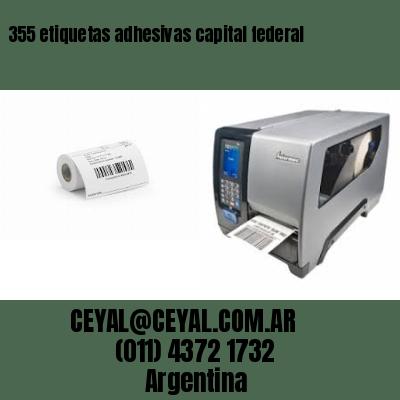 355 etiquetas adhesivas capital federal