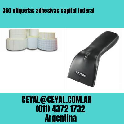 360 etiquetas adhesivas capital federal