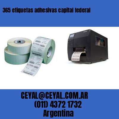 365 etiquetas adhesivas capital federal