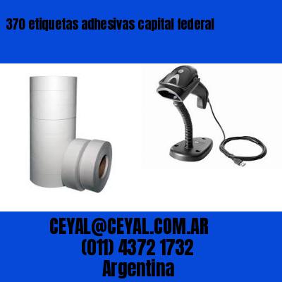 370 etiquetas adhesivas capital federal