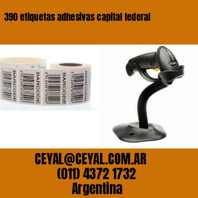 390 etiquetas adhesivas capital federal