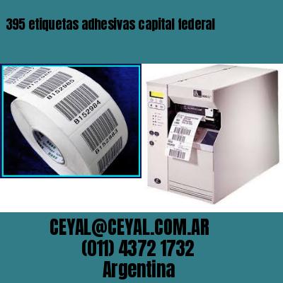395 etiquetas adhesivas capital federal