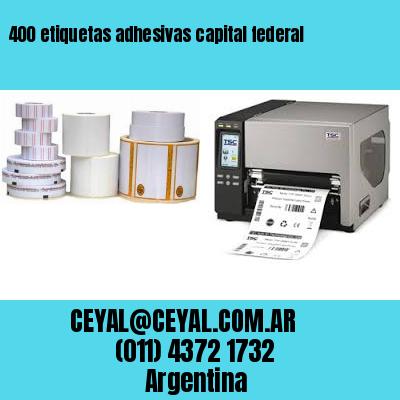 400 etiquetas adhesivas capital federal