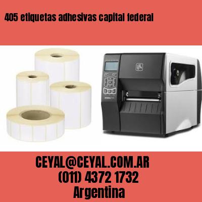 405 etiquetas adhesivas capital federal