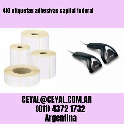 410 etiquetas adhesivas capital federal