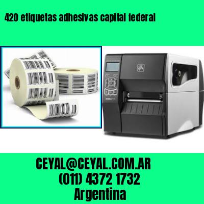 420 etiquetas adhesivas capital federal