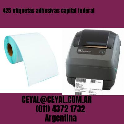 425 etiquetas adhesivas capital federal