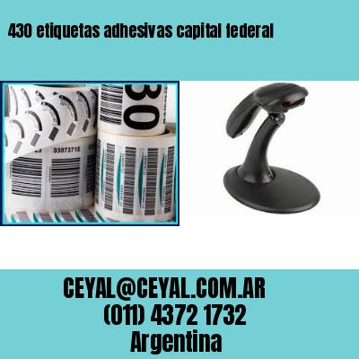 430 etiquetas adhesivas capital federal