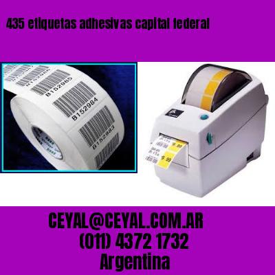 435 etiquetas adhesivas capital federal