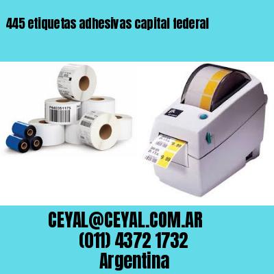 445 etiquetas adhesivas capital federal
