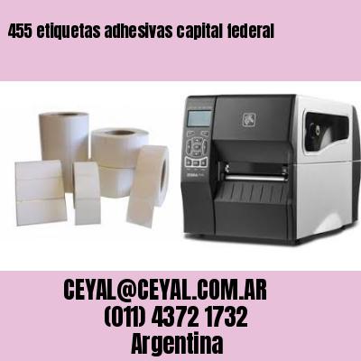 455 etiquetas adhesivas capital federal