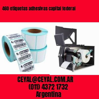 460 etiquetas adhesivas capital federal