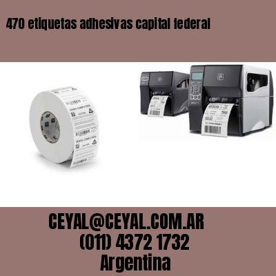 470 etiquetas adhesivas capital federal