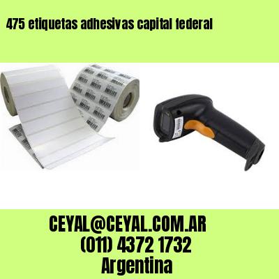475 etiquetas adhesivas capital federal