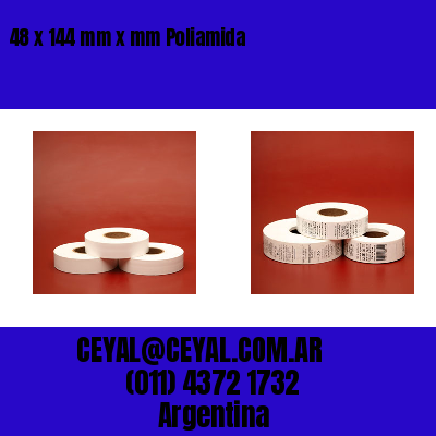 48 x 144 mm x mm Poliamida