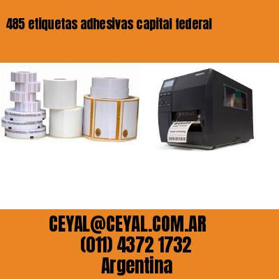 485 etiquetas adhesivas capital federal