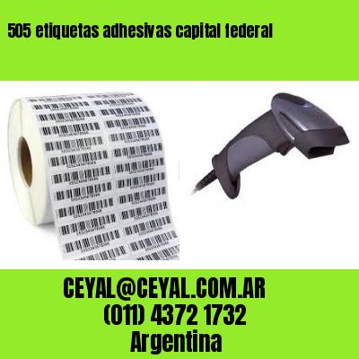 505 etiquetas adhesivas capital federal