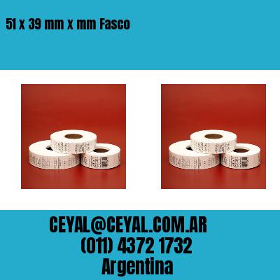 51 x 39 mm x mm Fasco