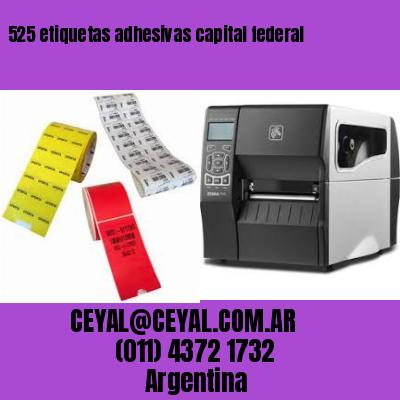 525 etiquetas adhesivas capital federal
