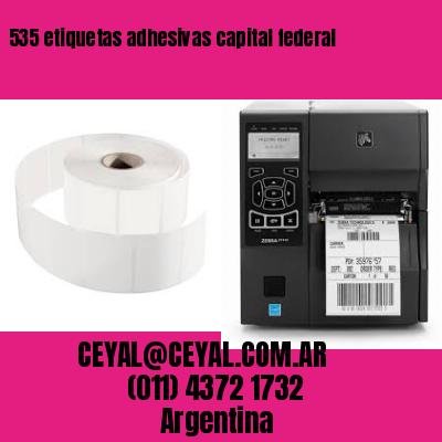 535 etiquetas adhesivas capital federal