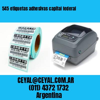 545 etiquetas adhesivas capital federal