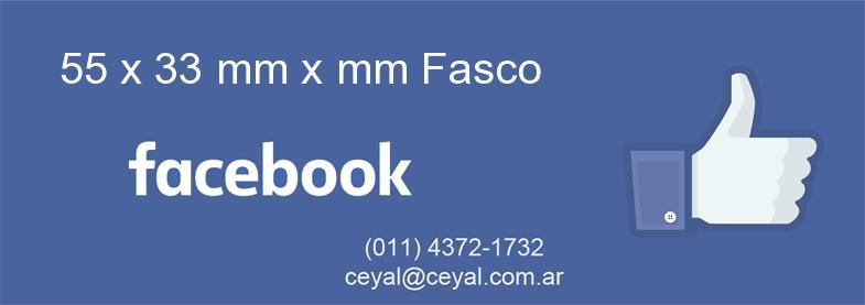 55 x 33 mm x mm Fasco