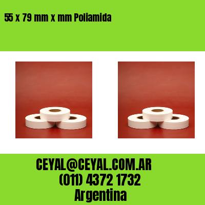 55 x 79 mm x mm Poliamida