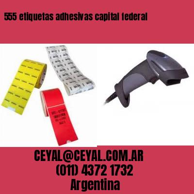 555 etiquetas adhesivas capital federal