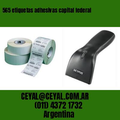 565 etiquetas adhesivas capital federal