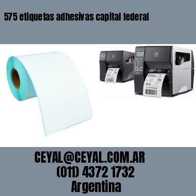 575 etiquetas adhesivas capital federal