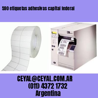 590 etiquetas adhesivas capital federal