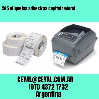 595 etiquetas adhesivas capital federal