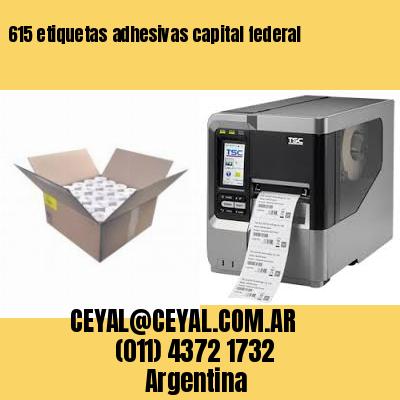 615 etiquetas adhesivas capital federal