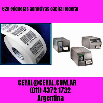 620 etiquetas adhesivas capital federal