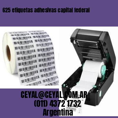 625 etiquetas adhesivas capital federal