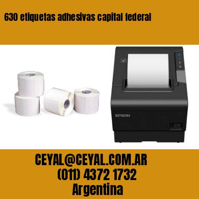 630 etiquetas adhesivas capital federal