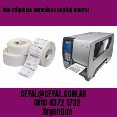 650 etiquetas adhesivas capital federal