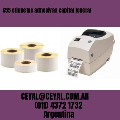 655 etiquetas adhesivas capital federal