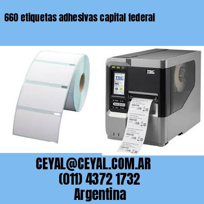 660 etiquetas adhesivas capital federal